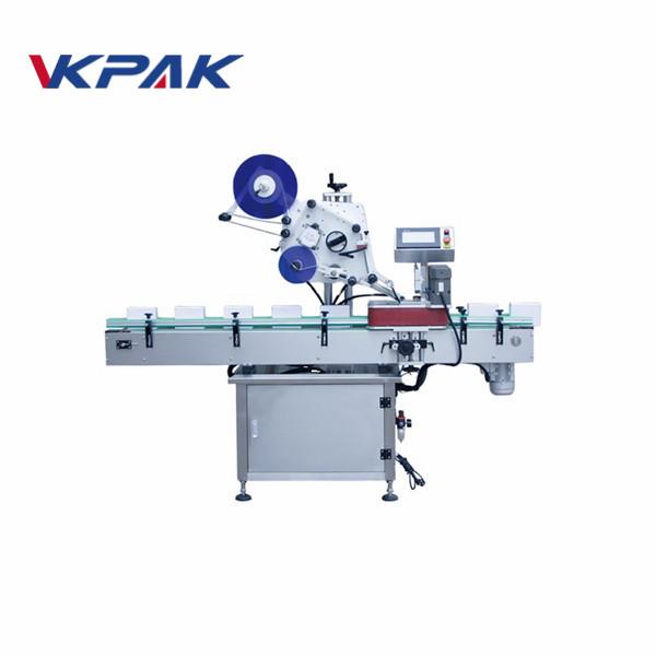 Automaatne lameda ülaosaga isekleepuva märgistamise masin