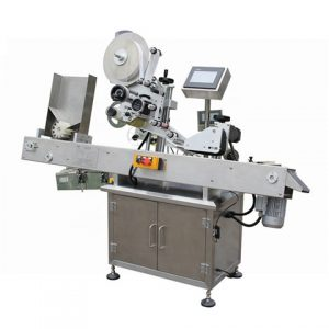 Stand Up Pouch Labeling Machine