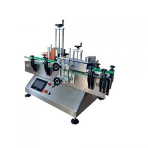 Automatic Two Labeling Heads Adhesive Sticker Labeller Equipment