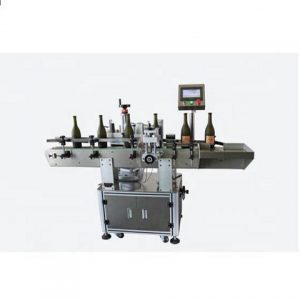 Automatic Labeling Machine On Bottom Side