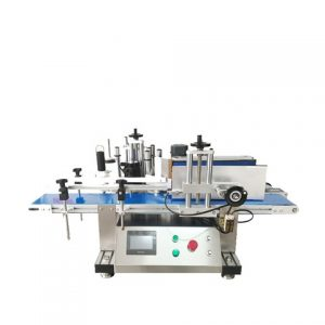 Double Faced Glass Bottle Labeling Machine