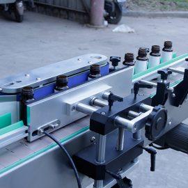 Automaatse vertikaalse ümmarguse pudeli kleebise märgistamise masina üksikasjad
